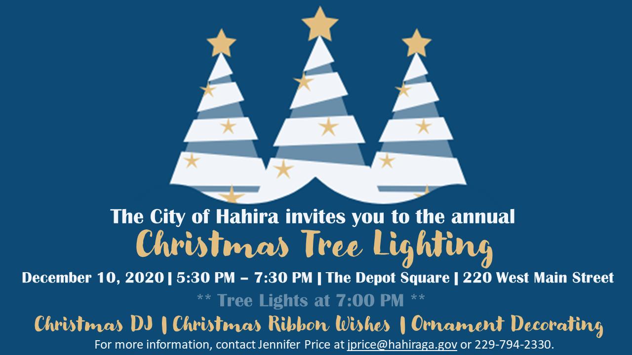 Hahira Ga Christmas Festival 2020 Events
